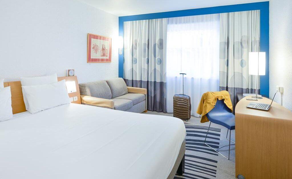 Novotel hotel met laadpaal - Lyon