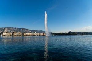 Meer van Geneve - Hotel met laadpaal Zwitserland