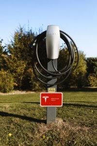 Tesla Laadpaal Engeland
