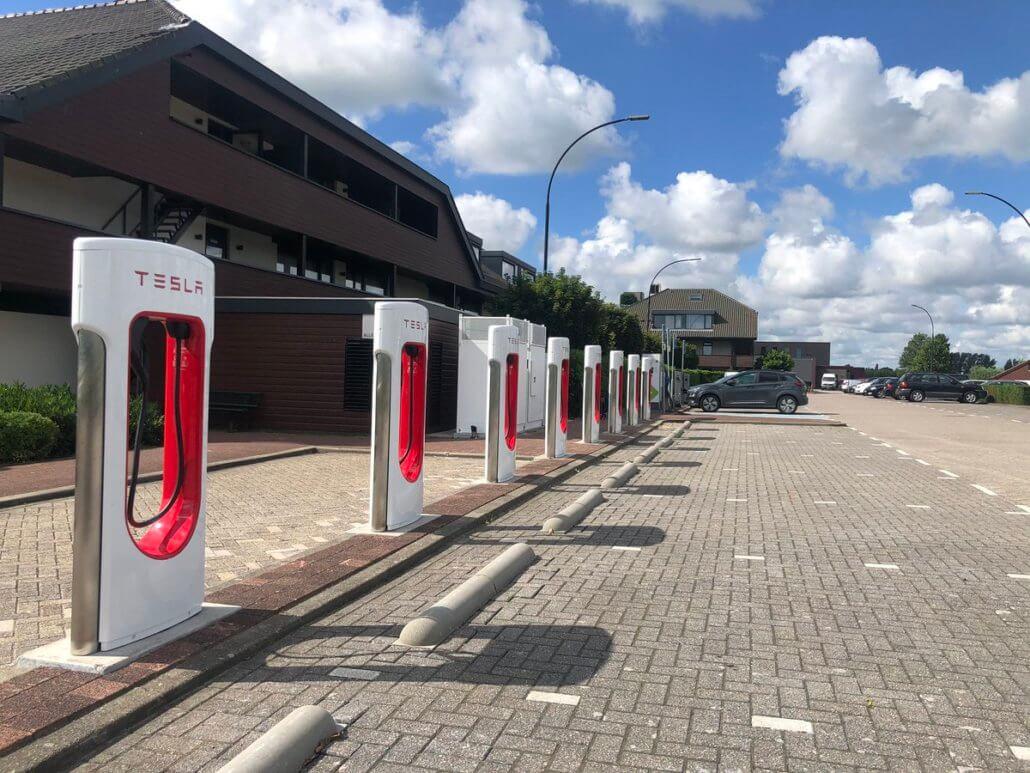 Tesla Superchargerstation