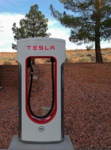 Tesla laadpaal Spanje
