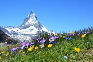 Zwitserland landschap uitzicht Matterhorn