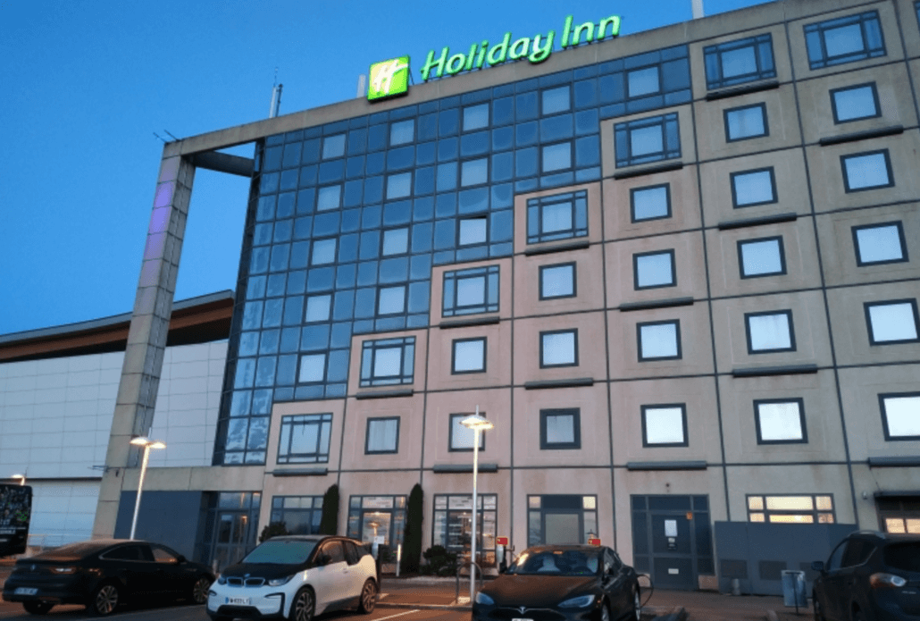 Holiday Inn hotel met laadpaal