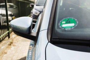 Milieusticker in Duitsland voor elektrische auto's