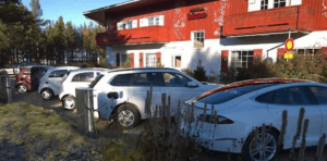 Hotel met laadpaal Finland