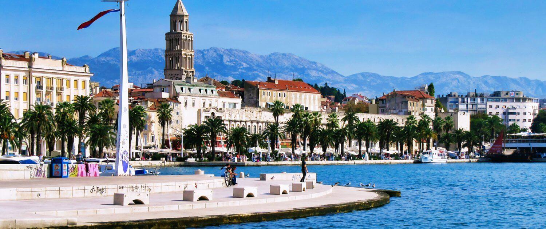 Hotel met laadpaal in Kroatië - Split